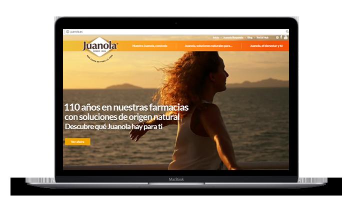 Juanola Site Desktop