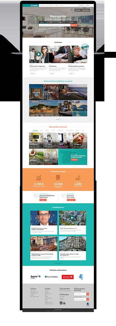 Website Entire page Sareb