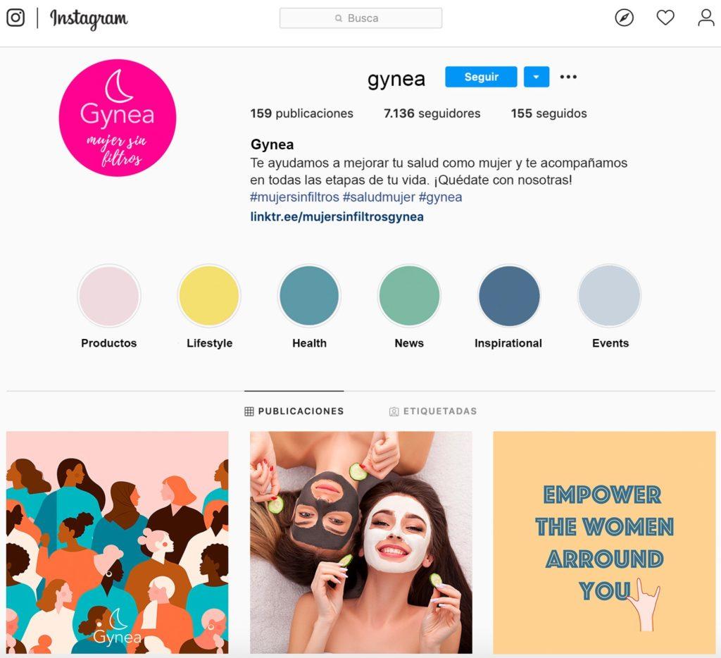 Instagram Gynea